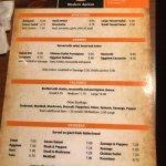 Newest menu