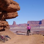 Riding the White Rim Trail in Canyonlands National Park