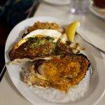 三種牡蠣口味集錦, 醬料口味都非常濃厚, 牡蠣本身也是又大又鮮美