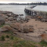 Causeway from Granite Island back to Victor Harbor