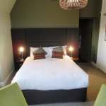 Nicely renovated double room - Peebles Hydro Hotel (05/Sept/17).
