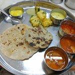 Gujarati thali at Purohit