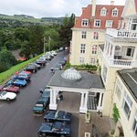 View of the TVR's on tour - Peebles Hydro Hotel (06/Sept/17).