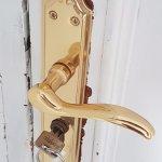 Tür innen und außen