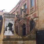 Art Nouveau wrought iron entrance