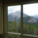 Udsigt til Banff og bjergene