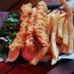 Pontoon Bar's Fish and Chips