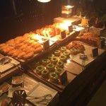 Buffett sweet section