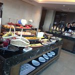 EXECUTIVE LOUNGE ON 32th FLOOR , BREAKFAST TIME