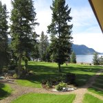 Balkonsicht aus den Little Shuswap Lake