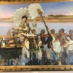 Alma-Tadema in the lobby