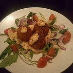 The Crab arancini was to die for, it melted in your mouth