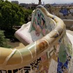 Love Gaudi's colour!