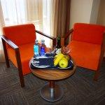Agua y fruta gratis en habitacion superior