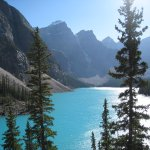 Beautiful Lake Moraine! Well worth the short climb to the top of the rock pile!