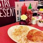tHam, Cheese, & Egg Breakfast Croissant