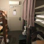 cramped 4 bed dorm turned into 6 bed dorm