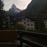 view of Matterhorn from balcony