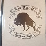 Black Bison à Syracuse Kansas