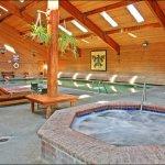 Indoor Pool, Hot Tub, Sauna, Exercise Room, Tanning and Massage at Cedar Serenity Spa
