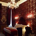 Lovely room but a little dark