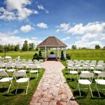 We can do any function outside in our Gazebo Area.