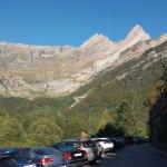 Parador de Bielsa con vistas al Monte Perdido