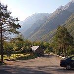 Vista al Valle de Pineta desde el parking del Parador