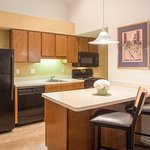All Suites feature a fully-equipped kitchen and dining area