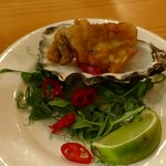 I thought the tempura oyster would be rubbery but loved it!
