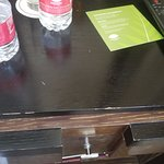 Cityscape Suite - Scratches on Bedroom endtable