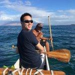 Canoe experience on Polo Beach