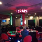 Video Craps table