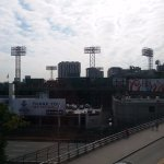 View of Fenway from room 414