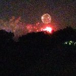 Fireworks at Epcot from the back sundeck