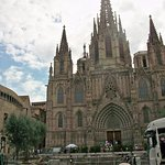 The Catherdral at Barcelona