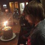 Partner and his birthday cake