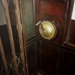 The antique elevator