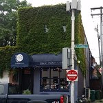 Blue Moon Cafe - view from the street.