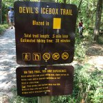 """Great walks and Devil's Icebox is a """"must see experience"""" good waterproof shoes and a flashlight"""