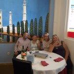 With Lal, Ann Clinton, Janet Norman & Joyce Hunt