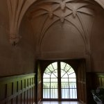 A chateau hallway