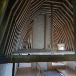 Some of the roof structure