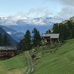 La Sage is remote, in the mountains. Very old farms surround the hotel.