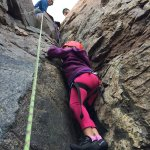 climbing the dihedral