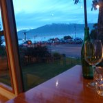 dining with a view at the green dolphin