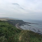 View from the top of the clifftops is amazing!