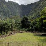 Waipi'o Valley, a lovely waterfall