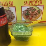 OMG this green salsa is amzing!