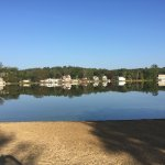 Cedar Lake located at Sturbridge Host Hotel property - view, beach, swimming, paddle boats